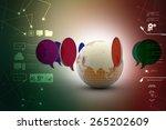 communication concept | Shutterstock . vector #265202609