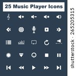 very useful music media icon...