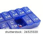 Pill Organizer - stock photo