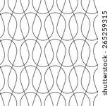 black and white geometric... | Shutterstock .eps vector #265259315