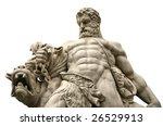 Hercules Strangling Beast...
