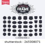 40 vintage premium styled... | Shutterstock .eps vector #265308071