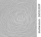 tree rings background. hand... | Shutterstock . vector #265313339