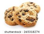 Chocolate Cookies Closeup