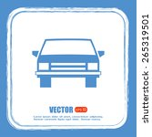vector illustration of car | Shutterstock .eps vector #265319501