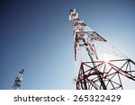 Telecommunications Tower With...
