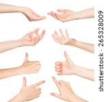 hands collage   Shutterstock . vector #265328009