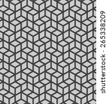 seamless geometric pattern   ... | Shutterstock . vector #265338209