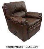 brown leather recliner | Shutterstock . vector #2653384