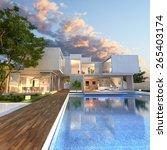 3d rendering of impressive... | Shutterstock . vector #265403174