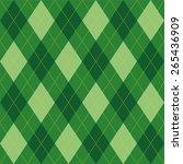 argyle basic seamless texture... | Shutterstock .eps vector #265436909