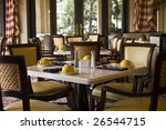 classy and pleasant restaurant... | Shutterstock . vector #26544715