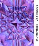 color crystal formation | Shutterstock . vector #265450091