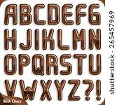 Milk Chocolate Font Part 1 2...