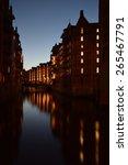 hamburg   speicherstadt... | Shutterstock . vector #265467791