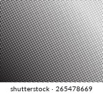 halftone dotted and circle art... | Shutterstock .eps vector #265478669
