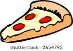pizza | Shutterstock .eps vector #2654792