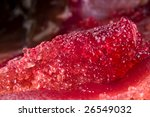 Herring Roe Close Up