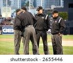 major league umpires | Shutterstock . vector #2655446