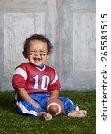 Football   Adorable Baby...