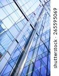 modern office building  ... | Shutterstock . vector #265595069