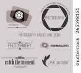 vector collection of... | Shutterstock .eps vector #265598135