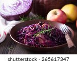 Spicy Red Cabbage Stewed With...