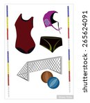 illustration collection of... | Shutterstock .eps vector #265624091