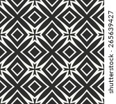 vector seamless pattern.... | Shutterstock .eps vector #265639427