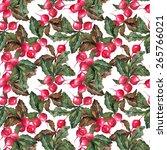 radish seamless pattern   Shutterstock . vector #265766021