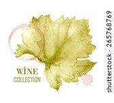 concept design for a wine list. ...   Shutterstock .eps vector #265768769