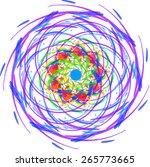 mandala. round ornament pattern....