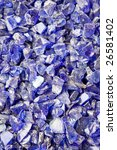 glass gravel | Shutterstock . vector #26581402