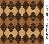 argyle basic seamless texture... | Shutterstock .eps vector #265819571