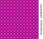 Quatrefoil Lattice Pattern Wit...