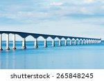 confederation bridge linking... | Shutterstock . vector #265848245