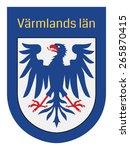 emblem of varmlands lan  sweden....   Shutterstock .eps vector #265870415