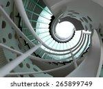 Modern Glass Spiral Staircase...