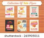 big sale with super discount... | Shutterstock .eps vector #265905011