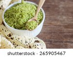 Pounded Unripe Rice  Green Ric...