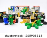 Постер, плакат: Studio shot of Lego