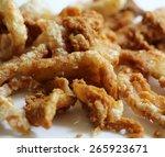 Постер, плакат: pork snack pork rind
