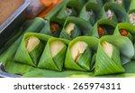 thai dessert   sticky rice... | Shutterstock . vector #265974311