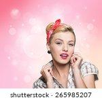 retro  unexpectedness  aged.   Shutterstock . vector #265985207