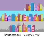 cityscape | Shutterstock . vector #265998749