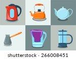Set Of Teapots  Teakettle ...