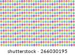 easter egg unusual bright vector | Shutterstock .eps vector #266030195