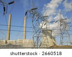Generating Power - stock photo