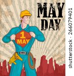 Happy May Day Celebration In...