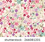 seamless flower pattern. vector ...
